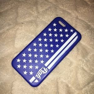 VS Pink American flag iPhone 6 case